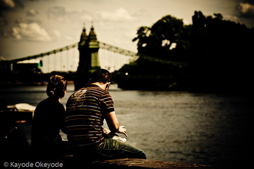 Day 169:  Hammersmith Bridge at Lunch Time