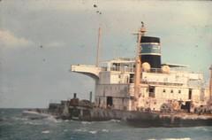 sygna stern (william.olive) Tags: beach 25 1975 kodachrome wreck stern stockton sygna