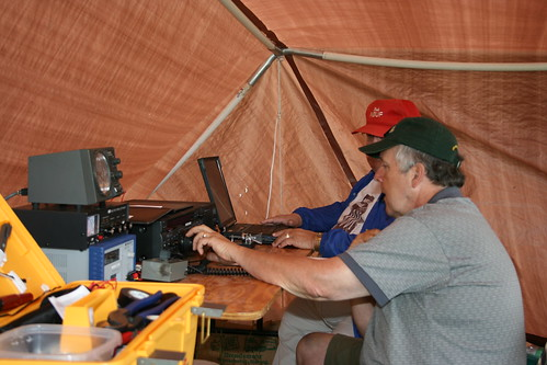 Ham Radio Field Day Amateur Radio Operators Field Day 2008