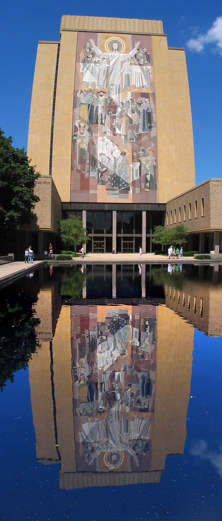 touchdown jesus reflection