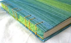 Concertina Binding Paste Paper