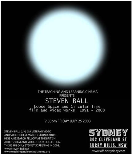 steven ball flyer