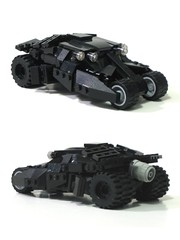 new tumbler (psiaki) Tags: lego batman batmobile tumbler thedarkknight