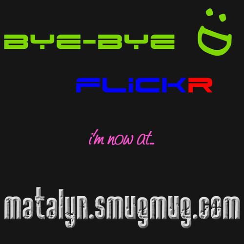 Bye Bye flickr!