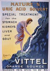 Vittel old poster  (1915) (Nestlé) Tags: advertising vittel waters nestlé nestleproducts nestleproduct nestléproducts nestléproduct