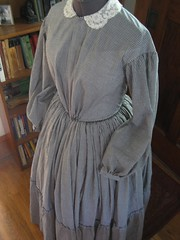 1850s dress for a client