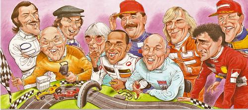 Motor racers