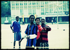 Sunday morning football (Irene2005) Tags: africa football ethiopia addisababa milleniumsquare urbanacid freephotos