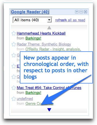 Google Reader, after