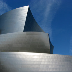 Walt Disney Concert Hall - Los Angeles (anadelmann) Tags: california ca blue sky