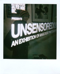 UNSENSORED08 (Skye J) Tags: polaroid collingwood exhibition 600 opening cheap shitty silvermine onestep unsensored08