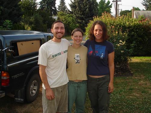 John and Anita and me