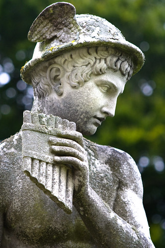 historia clasica estatua de hermes