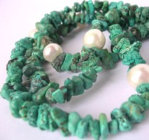 green coloured turquoise