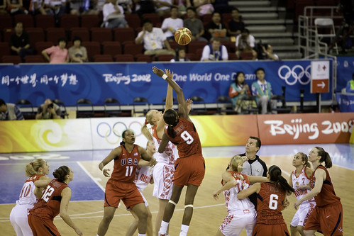 Beijing Day 6 — Basketball USA v RUS — 37
