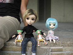 group picture (in/animate) Tags: yotsuba 20080823 dollmeet