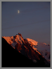 Mont Blanc Sunsets II (Cold Mountain) Tags: mountains alps chamonix montblanc