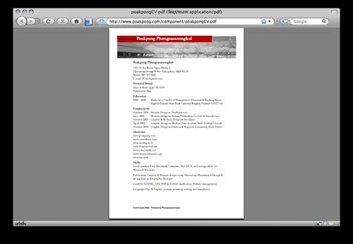Open PDF in Firefox