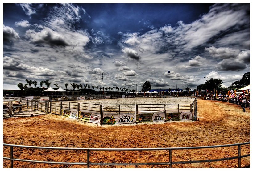 Rodeo Ring in HDR