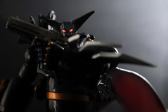 Getter Black (revlimit) Tags: black macro toys nikon flash explore remote nikkor 86 lightbox d300 getter revoltech 55mm28macro