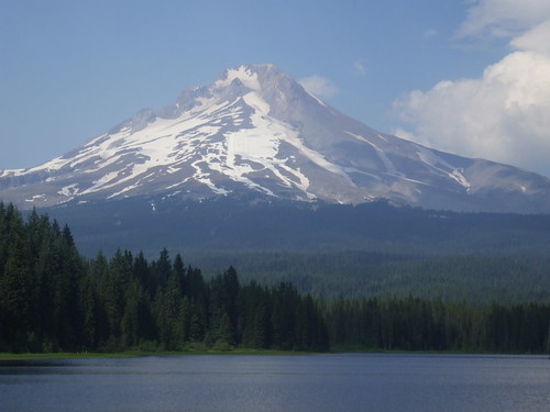 Mt. Hood from Trillium Lake
