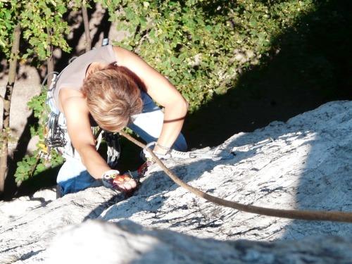Spätsommerlicher Klettergenuss