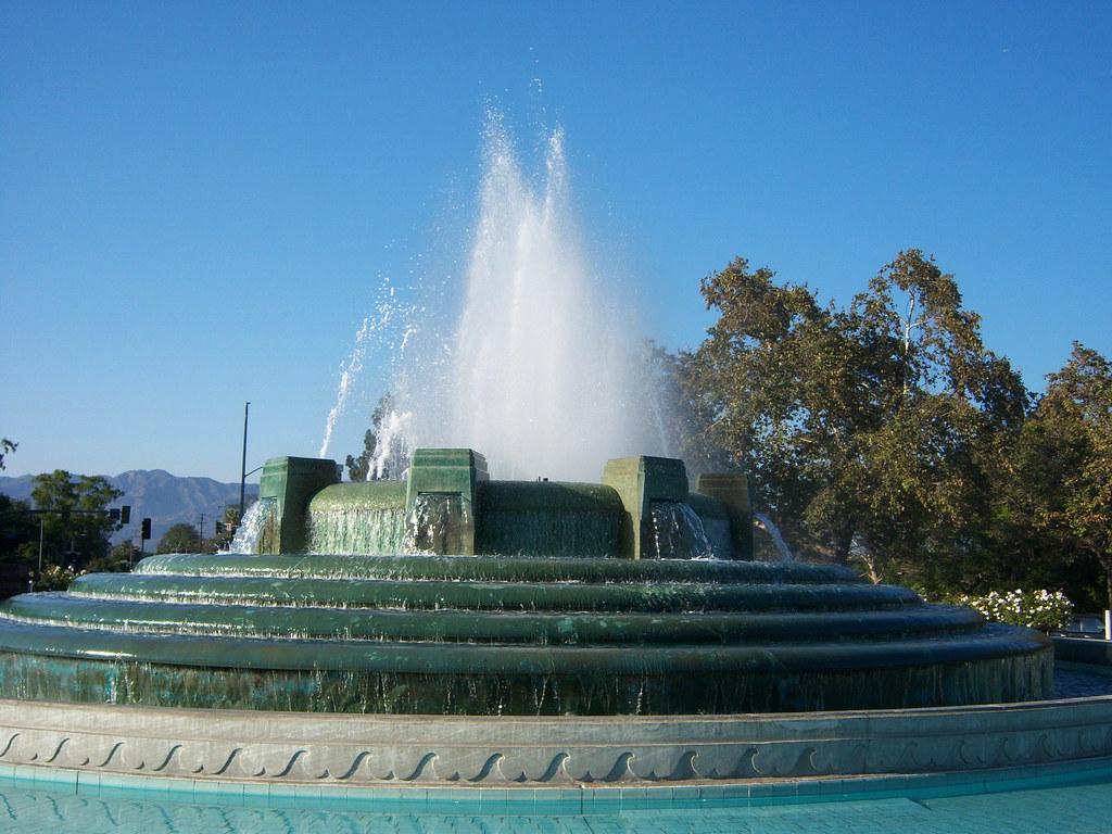 William Mullholand Memorial Fountain - Griffith Park