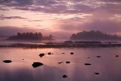 Dawn Mist over Loch Ba (David Kendal) Tags: mist fog sunrise landscape dawn scotland scottish peaceful tranquility calm nd loch rannochmoor lochan murk lochba a82 davidkendal