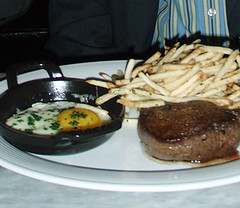Steak Frites at Foxtail