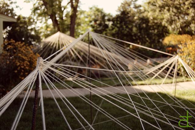 Lawn Installment- antiqued