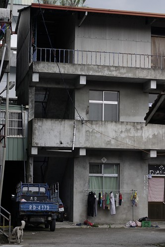 And this dreary concrete apartment building looks like it dates from the KMT dictatorship era.