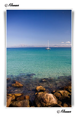 Azul/Blue (FJcuenca) Tags: blue españa azul spain mediterraneo barco andalucia cadiz andalusia mediterraneansea tarifa digitalcameraclub canoneos40d tamron18250 fjcuenca flickrlovers