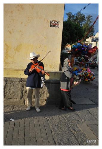 violin en plaza hidalgo