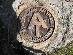 080920_026-Appalachian Trail marker (Maple Grove, Massachusetts, United States) Photo