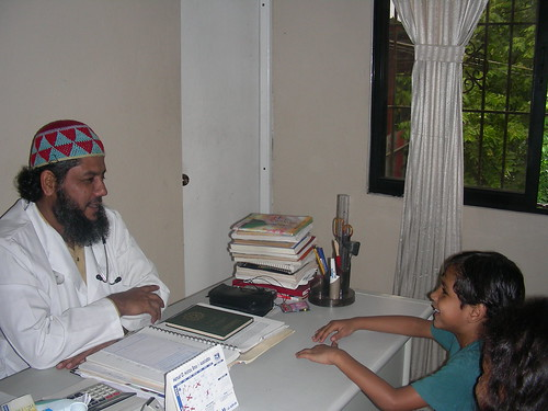Dr. Syed Muzaffar Hassan works from his family clinic in the Dominican Republic through which he hopes to assist afflicted persons. (IP File Photo)