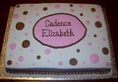 Cadence Elizabeth Cake