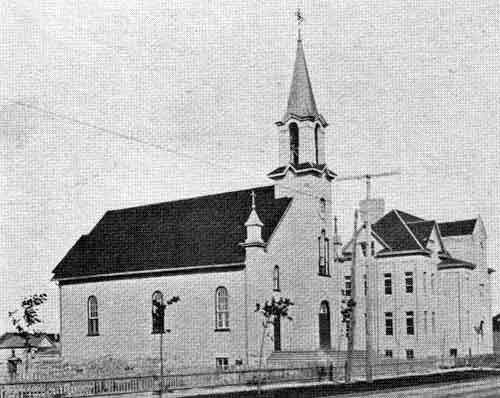Holy Ghost Church and School 1903