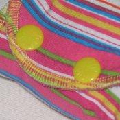 Newborn Fattycakes fitted diaper set *watermelon bubblegum*