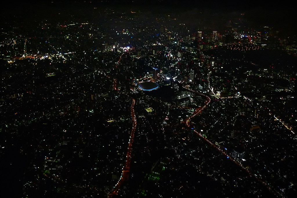 Helicopter over Tokyo