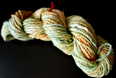 recycled yarn - dyed variegated