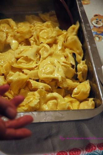 Tortelloni ripieni di patate dolci