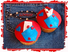 Denim Cupcakes (~Trs Chic Cupcakes by ShamsD~) Tags: cupcakes red blue denim hearts nikon fun roses letter lips shamsd love shamimadesai candy explore proudly south african madeinsouthafrica designercupcakes cupcakesfromsouthafrica cupcakesinpietermaritzburg weddingcupcakesinsouthafrica weddingcupcakesinpietermaritzburg cupcakesinsouthafrica tres chic by