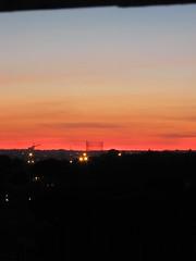 I miei tramonti (K [is back]) Tags: panorama roma tramonto viola colori fucsia arancio gasometro ostiense