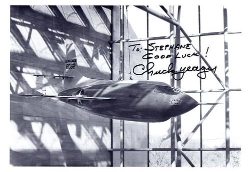 14 octobre 1947 / Chuck Yeager franchit officiellement le Mur du Son 2943009324_b9bf348e4a