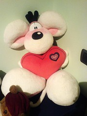 My Diddl (Elanorya) Tags: cuore amore peluches sanvalentino diddl