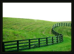 curved fence (vicipix) Tags: rural fence landscape scenery country scenic explore countryscene ruralscenes fromamovingcar ruralscene countryscenes landscapescenery