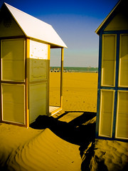 Autumn sand (Martjusha) Tags: blue autumn sea italy beach yellow sand october italia mare september autunno settembre spiaggia lignano friuli udine