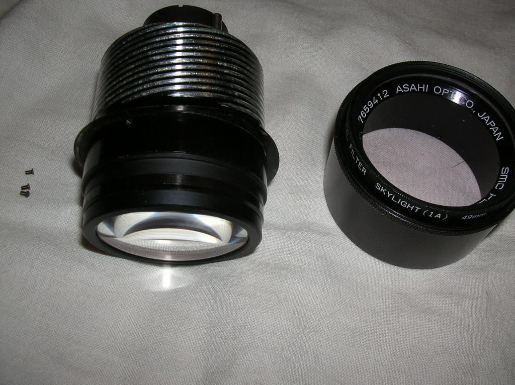 pentax-m 135mm f/3.5,失敗的組回;成功的學會!