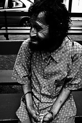 homeless (Jowei13) Tags: poverty people man shirt portraits persona faces homeless cara poor bum beggar crack drugs heroine hobo addiction addict broke hombre droga cocaine cocaina adicto pobres heroina adiccion brettwalker deambulantes