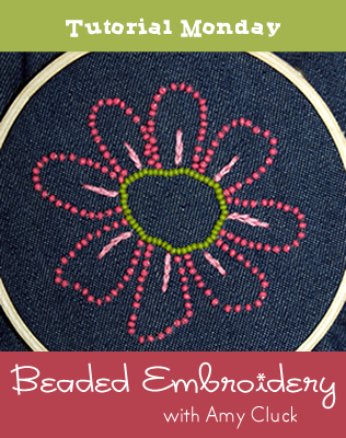 Beaded Embroidery Tutorial